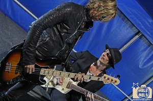 Duff and Jeff backstage